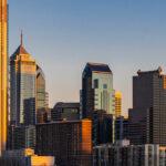 Philadelphia Skylines building